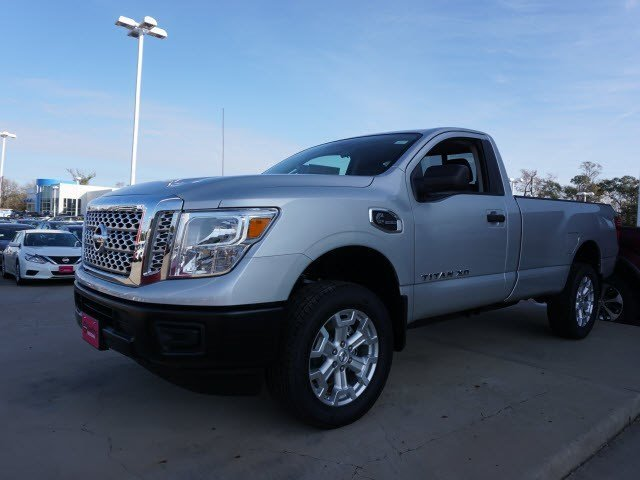 New 2017 Nissan Titan Xd S Regular Cab Pickup In Conroe